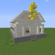 Small Classic Bank Building