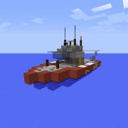Small Coastguard Boat
