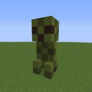 Small Creeper Statue