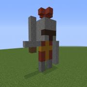 Small Knight Statue