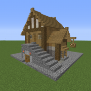 Small Medieval Tavern Detailed