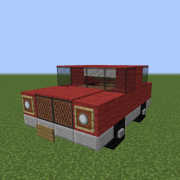 Small Red Family Car