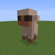 Small Sheep Statue