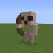 Small Skeleton Statue