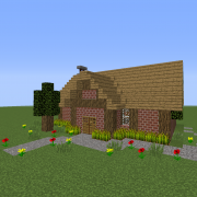 Small Village Brick House