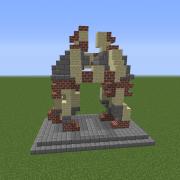 Soldier Combat Training Statue
