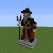 Statue of The Dark Wizard
