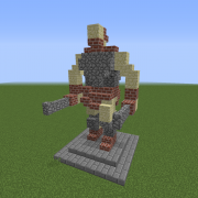 Statue of The Dual Wielding Hero