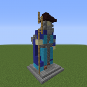 Statue of The Elemental Wizard