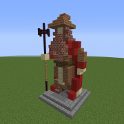Statue of The Fire Mage