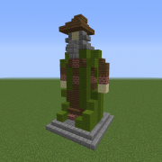 Statue of The Forest Wizard