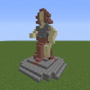 Statue of The Hero Girl