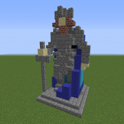 Statue of The Iron King