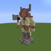 Statue of The Minotaur