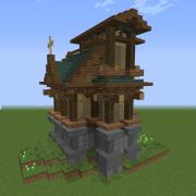 Steampunk Fantasy House 1