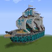 Steampunk Marine Ship