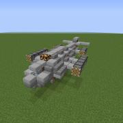 Steampunk Transport Shuttle
