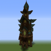 Tall Fantasy Mansion 5