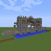 Tower Covered Medieval Bridge