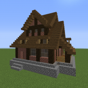 Brick Houses Blueprints For Minecraft Houses Castles Towers