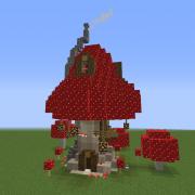 Wizard Mushroom House