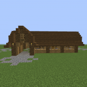 Wooden Horse Stable 2