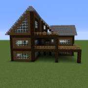 Search Wooden House Blueprints For Minecraft Houses Castles Towers And More Grabcraft