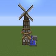 Wooden Windmill