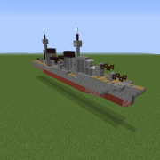 WW2 Arethusa-class Light Cruiser