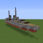 WW2 Nelson-class Battleship