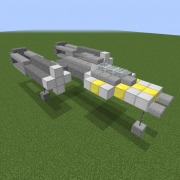 Y-Wing on Museum Display