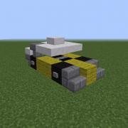 Yellow Formula 1 Car