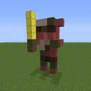 Zombie Pigman Statue